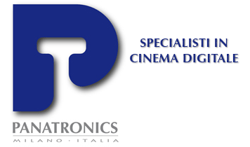 logo Panatronics, specialisti in cinema digitale